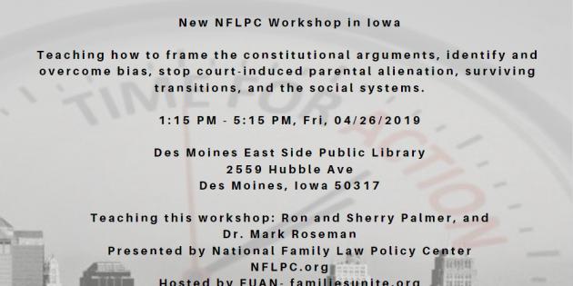 NFLPC Iowa Workshop with Dr. Roseman